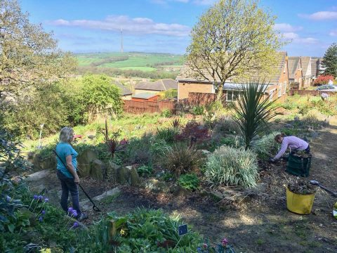 Memorial Garden - Task Day
